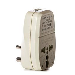OREI 3 in 1 India Travel Adapter Plug with USB and Surge Pro