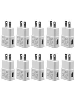 10 x 2A USB Power Adapter AC Home Wall Charger US Plug For S
