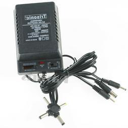 1000mA Universal AC to DC Multi-Tip Power Adapter 2 Sony Plu