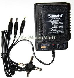 1000mA Universal AC to DC Power Supply Wall Plug Adapter 3V