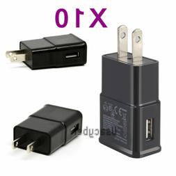 10X Home Wall Charger USB Power Adapter US Plug For Samsung