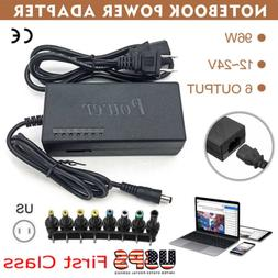 12-24V Adjustable Universal Power Supply 96W Notebook Charge