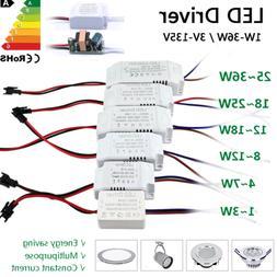 LED driver transformer power supply 110V 220V to DC 12V 24V
