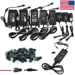 12V 1/2/3/5/6/8/10A Power Supply AC to DC Adapter for 5050 3