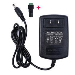 12V 2A LED Light Strip Power Supply, 24W AC Adapter, SMD 352
