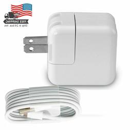 12W Power Adapter Wall Charger US Plug for Apple iPad 4 Air