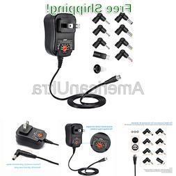 Belker 12W Universal 3V 4.5V 5V 6V 7.5V 9V 12V AC DC Adapter