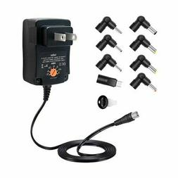 Belker 12W Universal Multi Voltage AC DC Adapter Switching P
