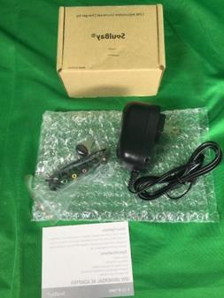 SoulBay 12W Universal Muti Voltage AC/DC Adapter Switching P