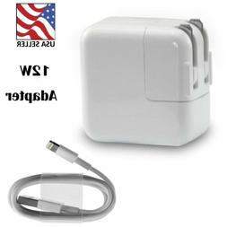 12W USB Power Adapter Wall Charger for Apple iPad 2 3 4 Air
