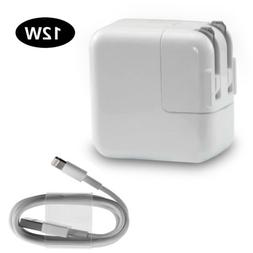 12W USB Power Adapter Wall Charger for Apple iPad 4 Air Pro