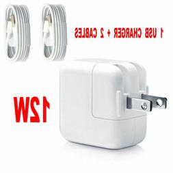 12W USB Wall Charger Power Adapter For Apple iPad Mini 2 3 4