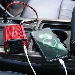 150W Power Inverter DC 12V to 110V AC Converter 5V USB Car A