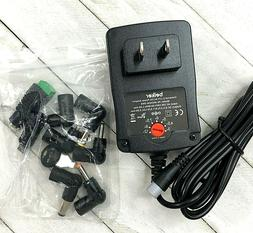 Belker 18W Universal 3V 4.5V 5V 6V 7.5V 9V 12V AC DC Adapter