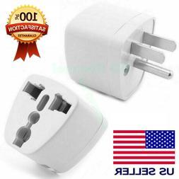 2/4/6 Pcs Universal EU UK AU to US USA AC Travel Power Plug
