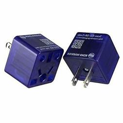 ROAD WARRIOR US Travel Plug Adapter EU/UK/CN/AU/IN to USA