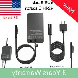 2018 Surface Pro 4 / 3 Power Adapter Charger 44W 15V 2.58A M