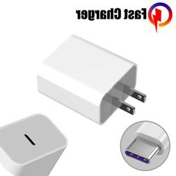 20W/18W USB Type C Fast Wall Charger PD Power Adapter for iP