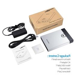 Poweradd 25600mAh Pilot Pro4 Power Bank AC Outlet For Macboo