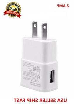 2AMP USB POWER ADAPTER WALL CHARGER For Universal SAMSUNG GA
