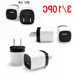 3/10PCS Universal Wall Charger USB Power Adapter Cube For Sa