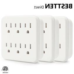 Electrical Outlet Splitter Wall Socket Divider Multi Power P