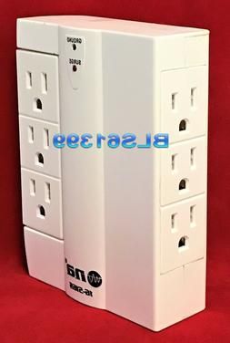 3 Outlet Surge Protector Wall Tap w/ 2 USB Ports - 900 Joule