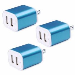 3 x 2.1A FAST Charging Power Adapter Dual Port Wall Charger
