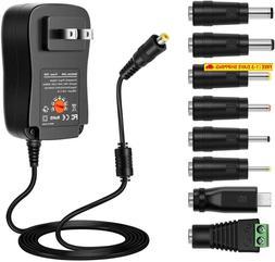 Zozo 30W Universal Ac Dc Adapter Regulated Switching Power S