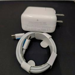 30W USB-C Power Charger Adapter for apple MacBook Air iPhone