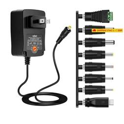 Belker 36W Universal 3V 4.5V 5V 6V 7.5V 9V 12V Ac Dc Adapter