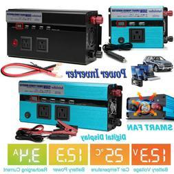 4000Watt Max Power Inverter DC 12V to 110V 120V AC Converter