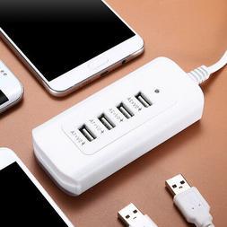 4port usb multi port desktop wall charger