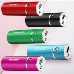 5000mah Mini External USB Power Bank Battery Charger Box For