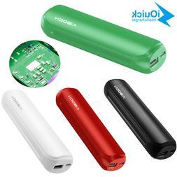 8000mAh Mini Power Bank Portable External Battery Charger Fo