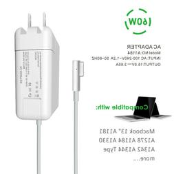 """60W AC Power Adapter Charger for 13"""" Apple Macbook Pro A1278"""