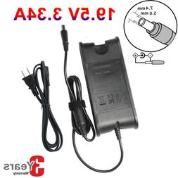 19.5V 65W AC Adapter Charger Power Supply Cord for Dell Lapt