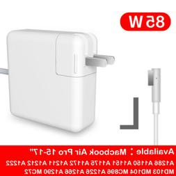 85W Magsafe1 L-Tip Wall AC Power Adapter For 15In 17in Mac B