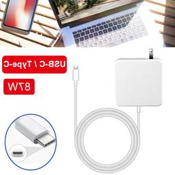For Apple MacBook Pro Power Adapter Charger USB-C Type C Cab