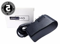OMNIHIL  High Quality 9 Volt 1.5 Amp Power Adapter AC DC 2.1