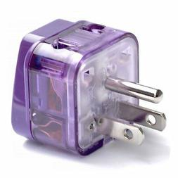 AC POWER TRAVEL ADAPTER PLUG FOR USA US CANADA SOUTH & NORTH