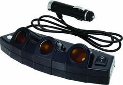 Bell Automotive 22-1-39023-8 Black 3-Outlet Power Strip
