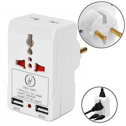 European Adapter by Yubi Power TMA32SU Travel Adapter with 2