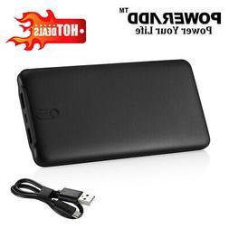 Poweradd 50000mAh 2 USB Port Power Bank Portable Quick Charg