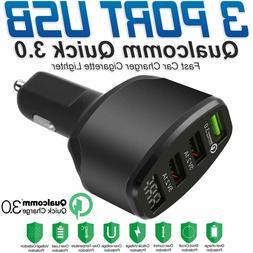 Smart Rapid 4 Port USB Universal Car Charger Adapter 5V MAX