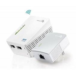 TP-Link AV600 Powerline WiFi Extender - Powerline Adapter wi