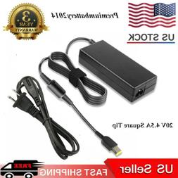 AC Adapter For Lenovo ThinkPad 20V 4.5A 90W Laptop Charger P