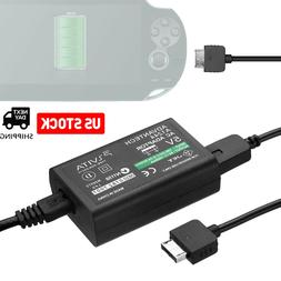 AC Adapter Power Supply USB Data Cable for Sony PS Vita PSV