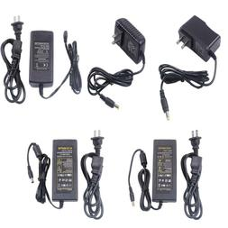 AC/DC 12V 1A 2A 5A 6A 8A Power Supply Cord Charger Adapter f