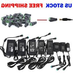 12V DC 1A 2A 3A 5A 6A 8A 10A Power Supply Adapter 110/220 12